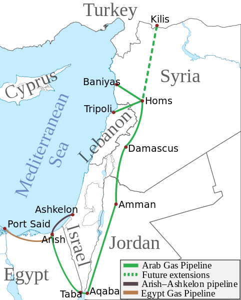 arab-gas-pipeline-aqaba-taba-killis