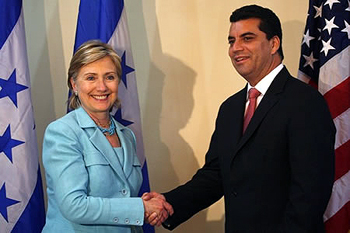 Elvin Santos, was a former vice president of Honduras, a 2009 presidential candidate and a key supporter of the putsch that drove Zelaya from power