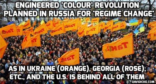 Color Revolution Russia