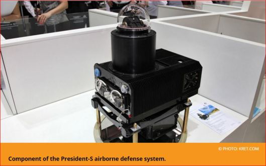 Component of the President-S airborne defense system