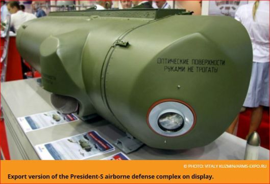 Export version of the President-S airborne defense complex