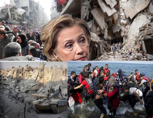 Hillary Clinton And The Syrian Shoah