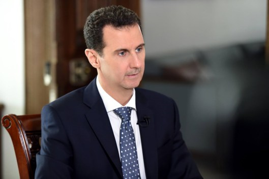 President Assad to ARD TV (1)