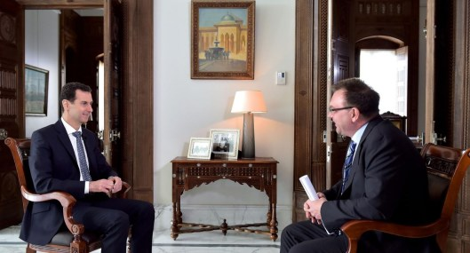 President Assad to ARD TV (3)