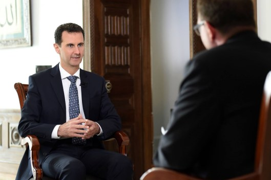 President Assad to ARD TV (5)