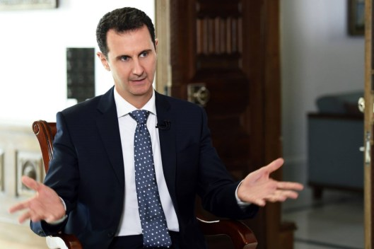 President Assad to ARD TV (6)