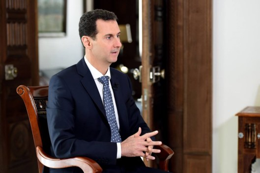 President Assad to ARD TV (7)