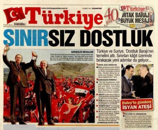 Türkiye, 7 February 2011
