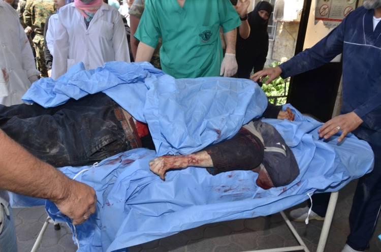 Aleppo terrorist attack