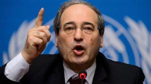 Foreign Minister Faisal Mekdad