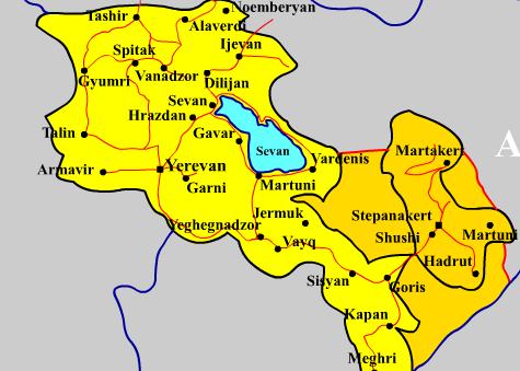 Ngorno-Karabakh - Armenia and Azerbaijant 2016-04-02