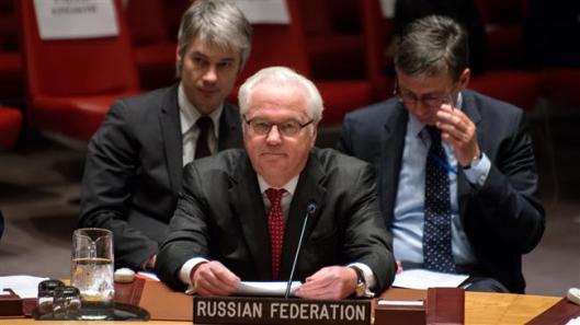 Russia's UN Ambassador Vitaly Churkin