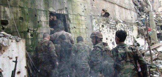 Syrian Army-Palestinian resistance forces
