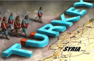 Turkeys border unlikely to close to jihadists
