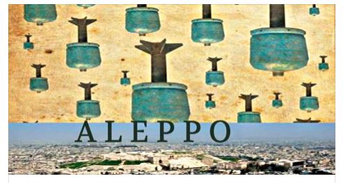 Aleppo-bombs