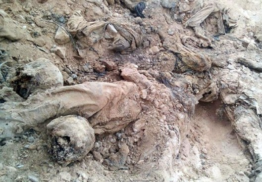 Mass Grave in Palmyra (1)