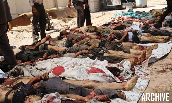Foreign-backed terrorists commit massacre in al-Zara [Hama ...
