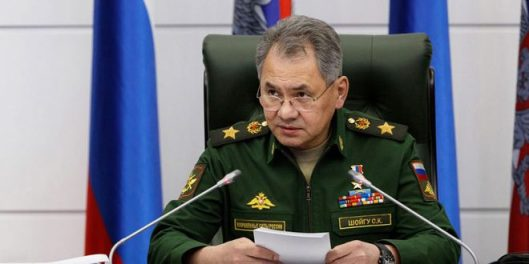 Russian Defense Minister Sergey Shoigu warned
