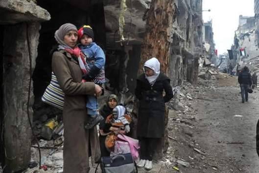 siria-donne-yarmouk-camp