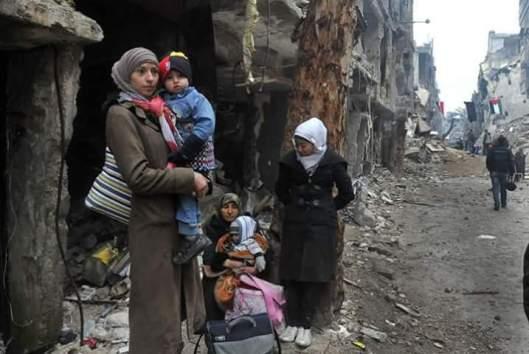 siria-donne-yarmouk-camp