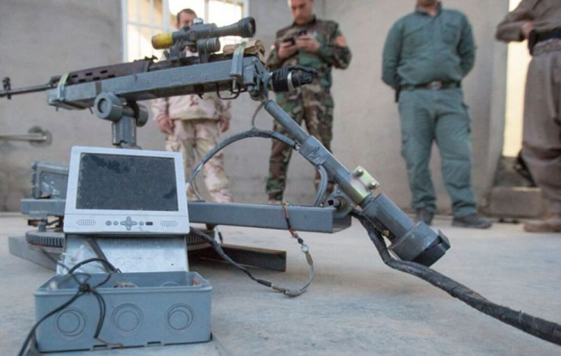 Sniper Rifle Seized by SAA From ISIS Terrorists