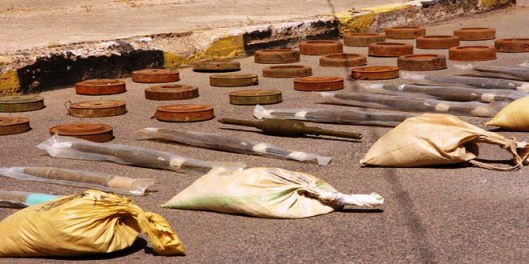 weapons-seized-terrorists-TWO-missile-Israeli-shells-Sweida-3