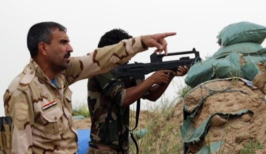 75 DAESH Terrorists killed in Southern Fallujah