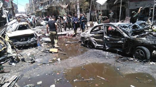 al-Sayyida Zainab twin bombings-1
