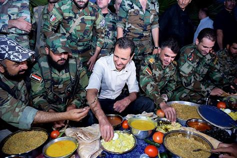 Bashar_al-Assad_and_SAA_20160627-0