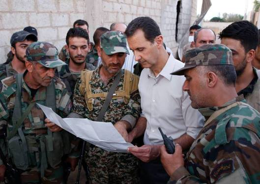 Bashar_al-Assad_and_SAA_20160627 (3)