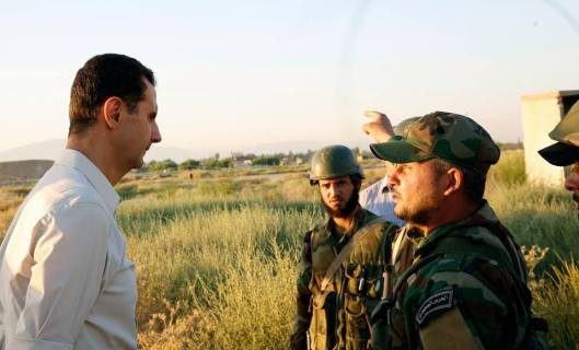 Bashar_al-Assad_and_SAA_20160627 (6)