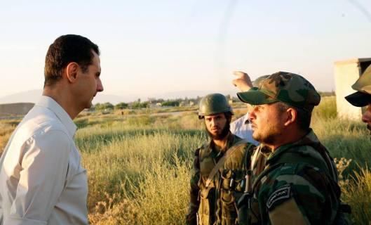 Bashar_al-Assad_and_SAA_20160627 (6)