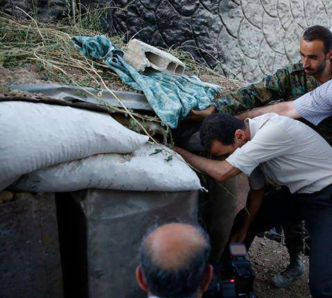 Bashar_al-Assad_and_SAA_20160627 (9)