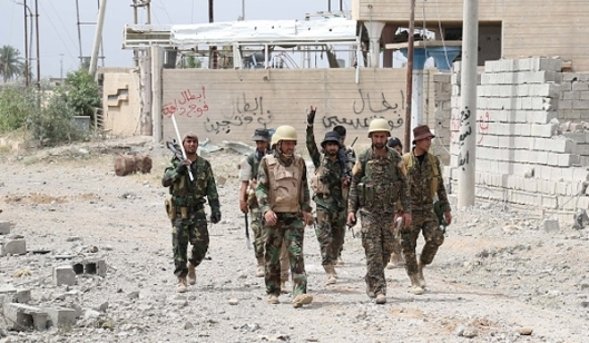 Iraqi Forces Continue Advances in Anbar Province