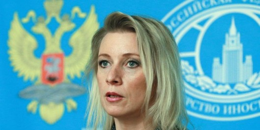 Russian Foreign Ministry Maria Zakharova