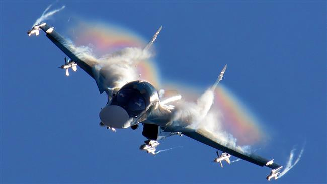 Russian Su-34 fighter bomber
