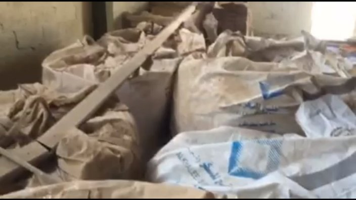 Tons of explosives found in Daesh hideout-1