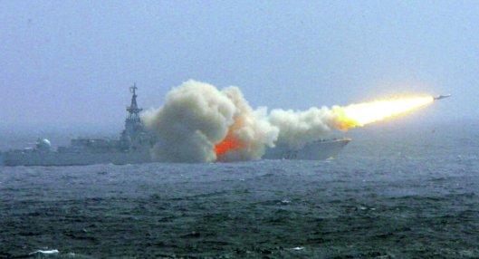 China drills