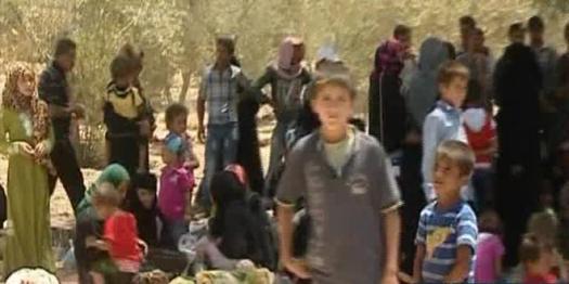 families-people-return-al-Batma-Triangle-Homs-fleeing-ISIS-4