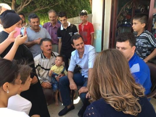 President-al-Assad in Homs (1)