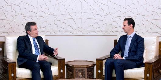 President-al-Assad_Greek