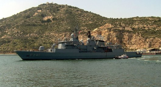 Turkish Frigate
