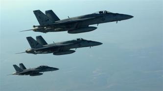 US Navy F-18E Super Hornets