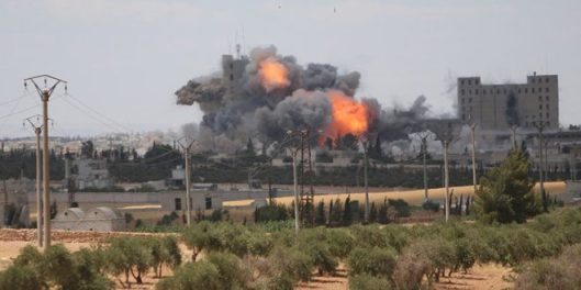 USA-killing tens of civilians in Manbej