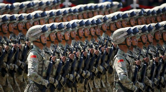Soldiers of China's People's Liberation Army (PLA) © Damir Sagolj / Reuters