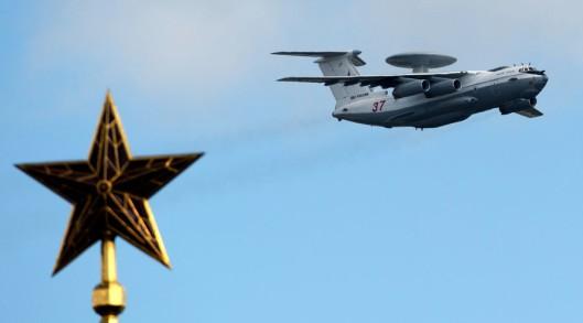An A-50U airborne early warning aircraft © Alexander Vilf / Sputnik