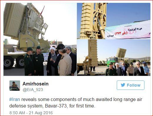 Iran Bavar-373 air defense complex