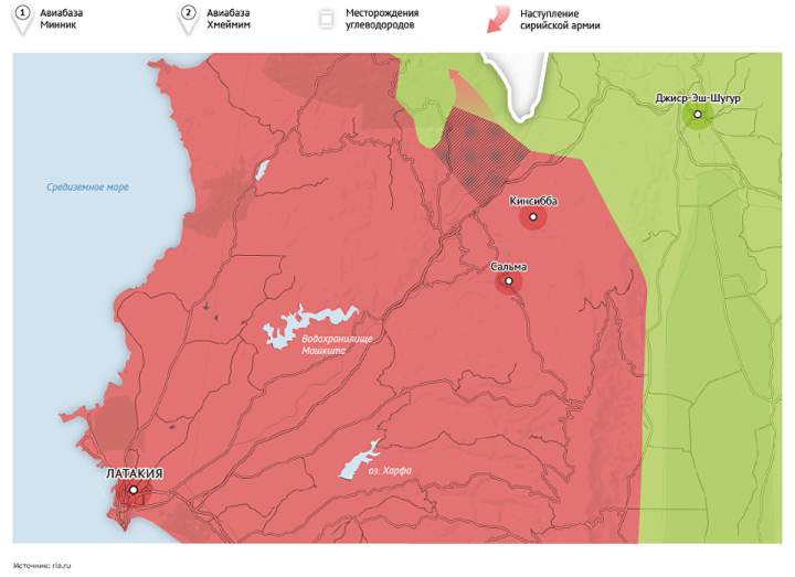 Map of the Syria Conflict-3