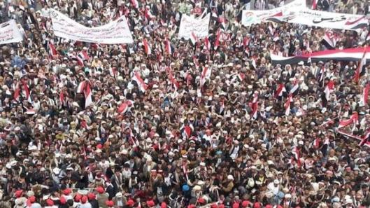 Millions of Yemenis rally