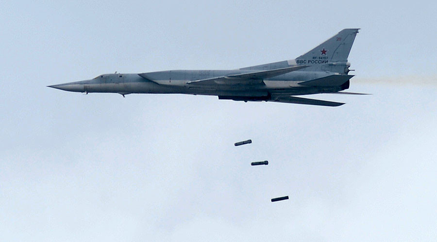 russian bombers destroy daesh targets near palmyra evidence of uk troops on the ground in